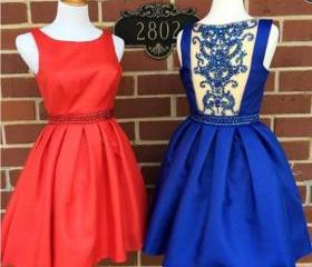 2016 Short Prom Dres..