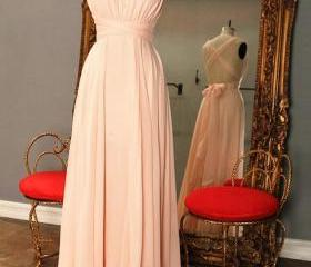 Simple Pink Prom Dre..