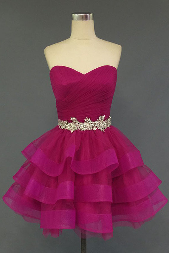 ac4be84c18 Sweetheart Beading Prom Dress